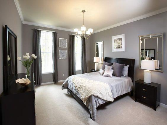 Dormitorios Pequenos Ideas En Decoracion Moderna Y Color Para Paredes - Dormitorios-adultos