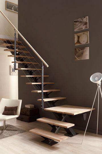 Escaleras modernas para casas pequeas Decoracion de interiores