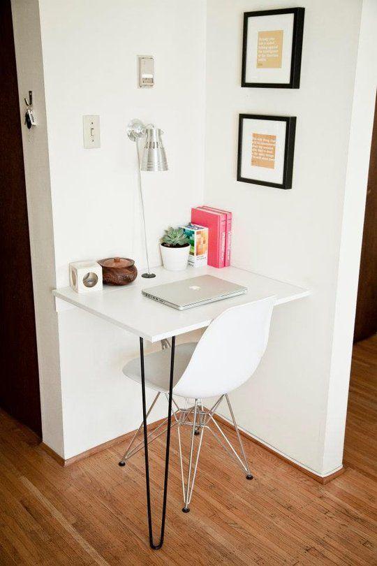 Muebles para una casa peque a ideas para decorar interiores - Escritorios para habitaciones pequenas ...