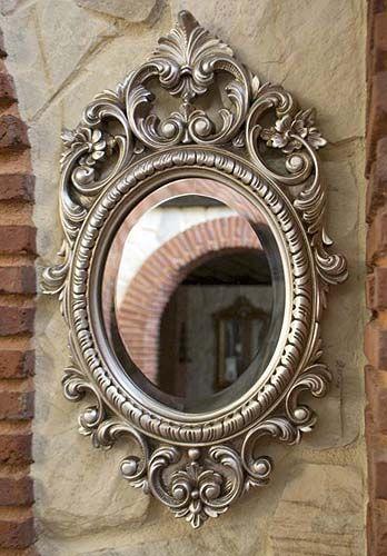 Espejos decorativos con molduras