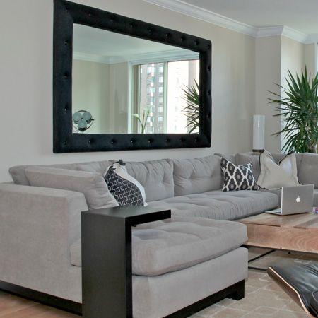 espejos decorativos ideas decoracion con espejos On espejos decorativos para sala