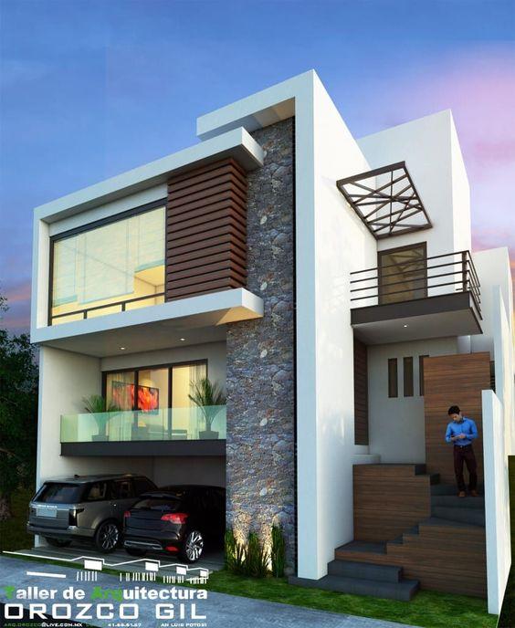 Casas modernas 2019 2020 fotos e ideas de casas modernas for Las mejores fachadas de las villas
