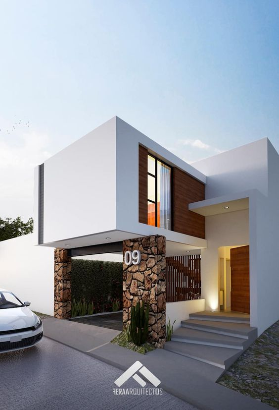Casas modernas 2019 2020 fotos e ideas de casas modernas for Viviendas estilo minimalista