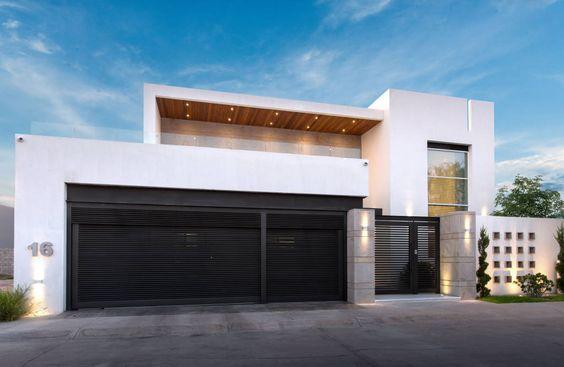Fachadas de casas de dos pisos minimalistas 1 for Fachadas de dos pisos minimalistas