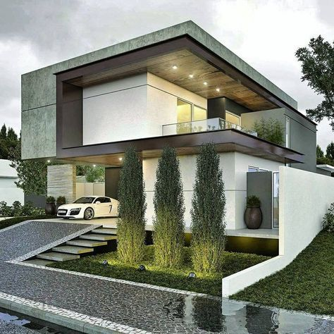 Casas modernas 2019 2020 fotos e ideas de casas modernas for Casas modernas fachadas de un piso
