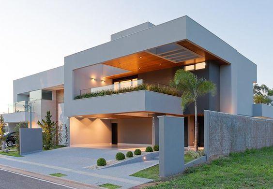 Casas modernas 2018 2019 fotos e ideas de casas modernas for Fachadas modernas para casas de dos pisos