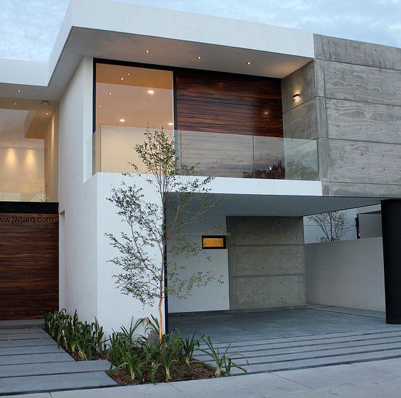 Casas modernas 2018 2019 fotos e ideas de casas modernas for Frentes de casas minimalistas fotos