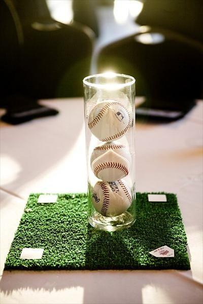 Fiesta con tema de beisbol para hombre