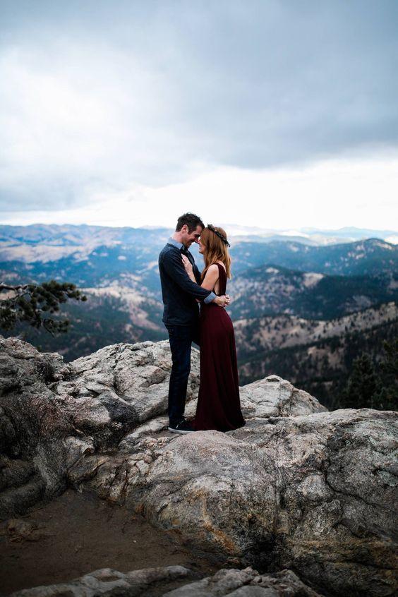 Fotos en pareja creativas