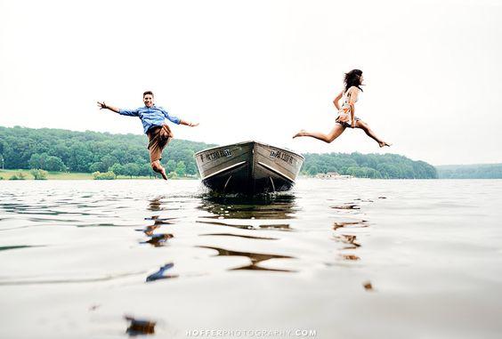 Fotos en pareja divertidas