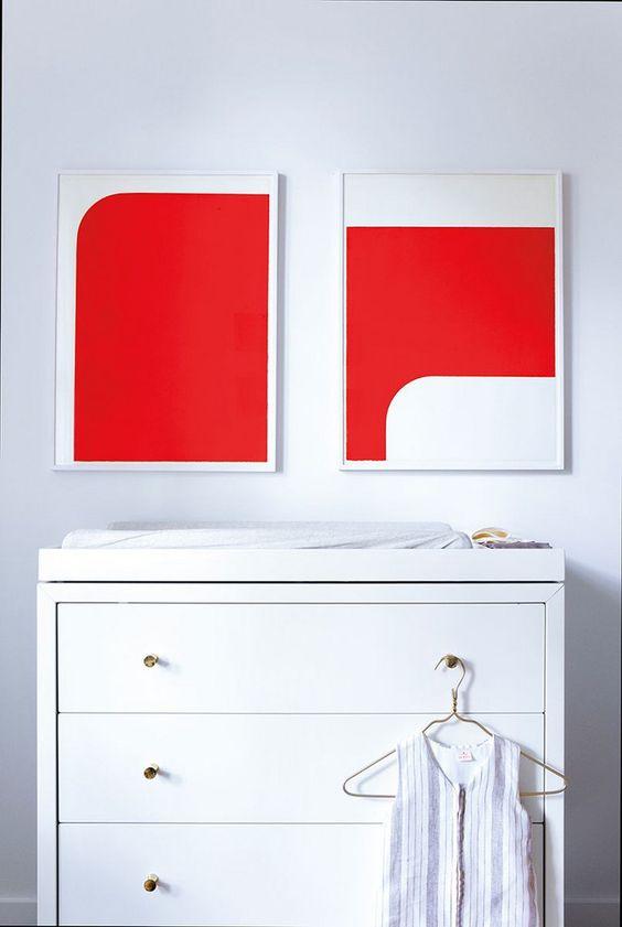habitaciones decoradas con color cherry tomato (1)