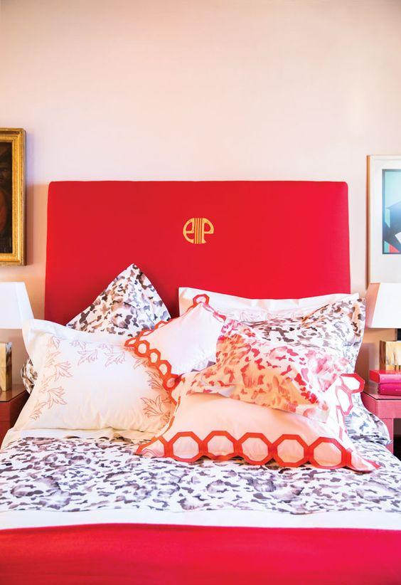 habitaciones decoradas con color cherry tomato (3)