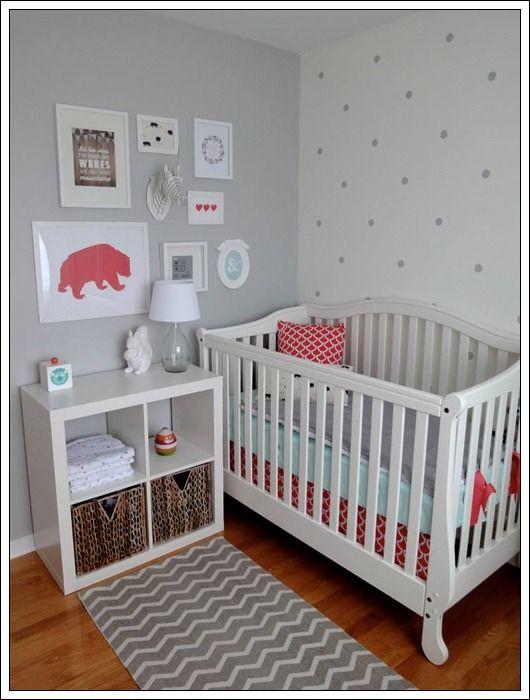 Habitaciones para beb s como organizar la casa - Habitaciones bebe pequenas ...