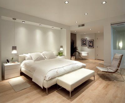 Iluminación en el dormitorio