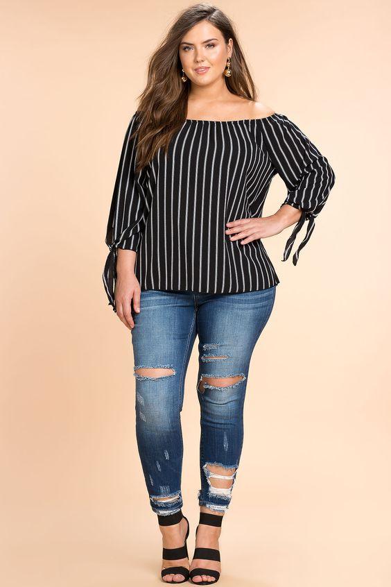 0ed317e25 Blusas para gorditas | Lo mejor de la moda en tallas grandes 2019