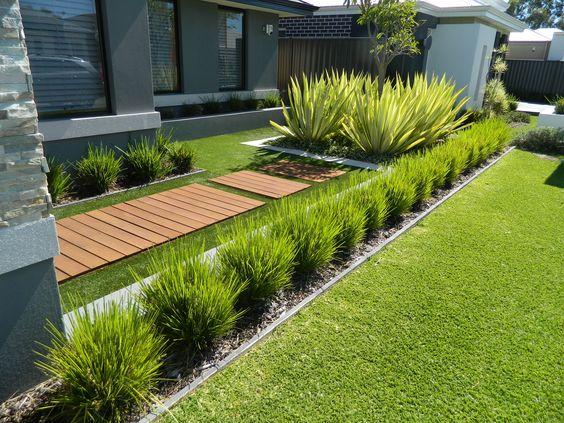 Jardines De Casas Modernas. Awesome Jardn De Estilo Ingls With ...