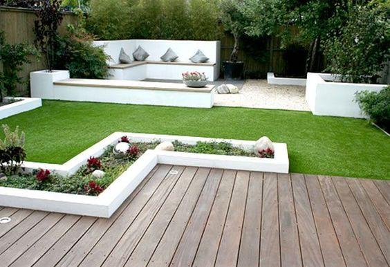 Imágenes de jardines modernos | Decoracion de interiores Fachadas ...