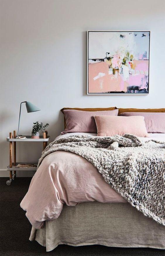 Interiores en color Pink Lavender