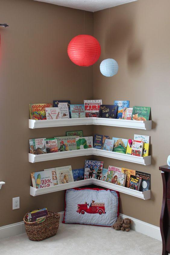 Libreros para casas pequeñas