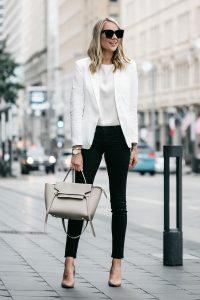 Look para oficina mujer joven