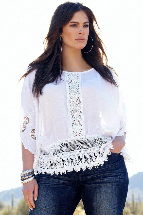 377ab5ed2cc1 Blusas para gorditas | Lo mejor de la moda en tallas grandes 2019