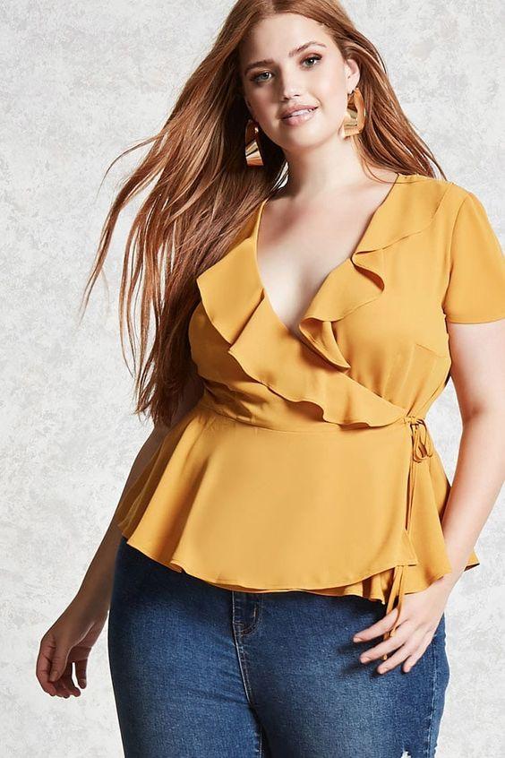modelos de blusas para gorditas para fiesta (2)