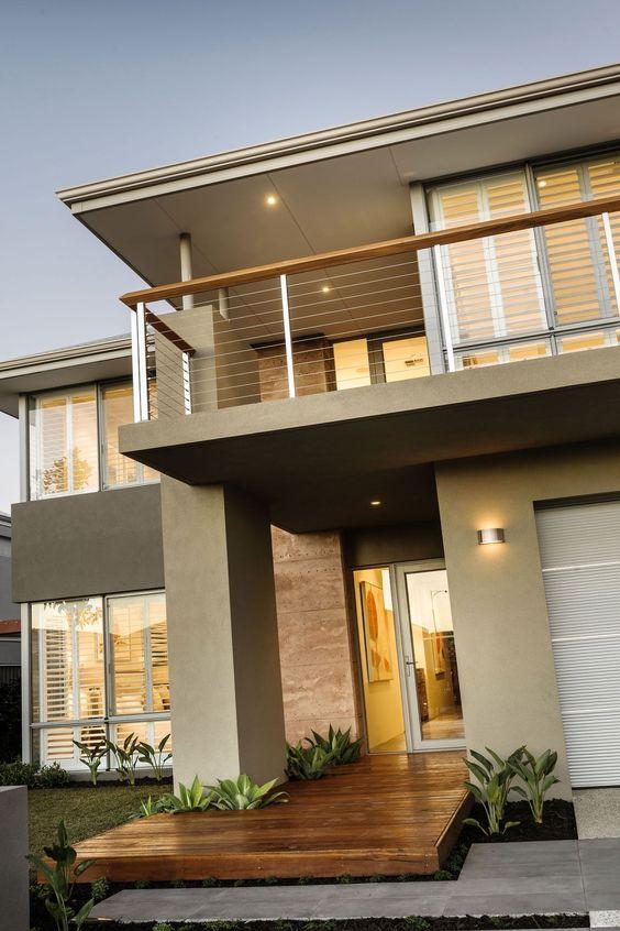 Modelos de casas de dos pisos para construir decoracion for Modelos de fachadas de casas de dos pisos