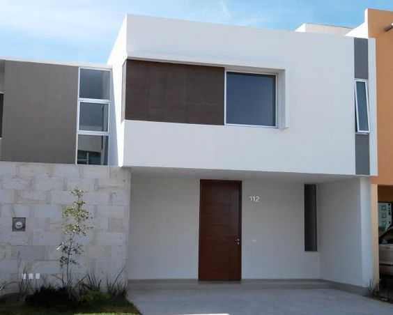Casas modernas de dos pisos modelos de vivienda modernos - Casas de dos plantas sencillas ...