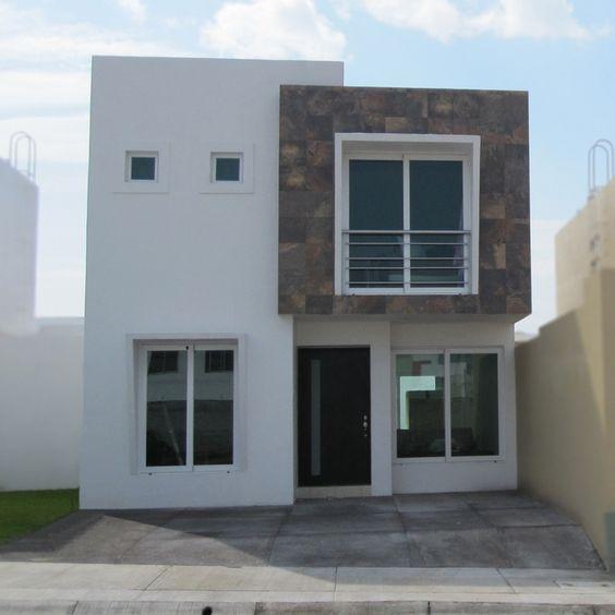 Modelos de casas de dos pisos sencillas decoracion de for Fachadas de casas de 2 pisos pequenas