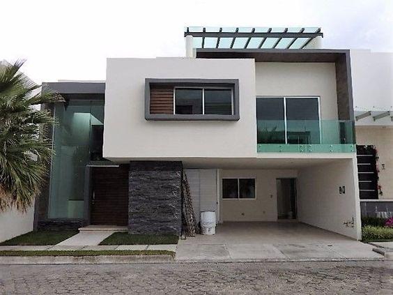 Modelos de casas de dos pisos sencillas decoracion de for Modelos de fachadas de casas de dos pisos