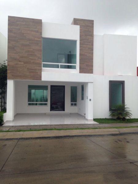 Modelos de casas de dos pisos sencillas decoracion de for Modelos de puertas exteriores para casas