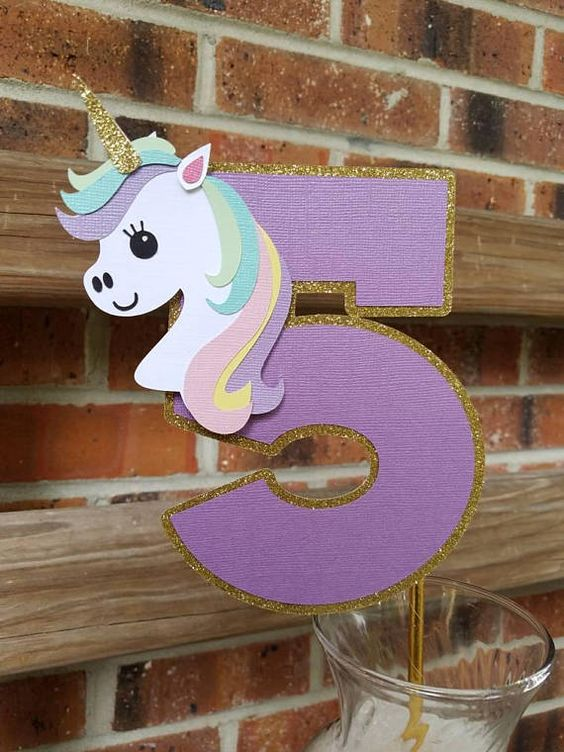 numero cinco de unicornio