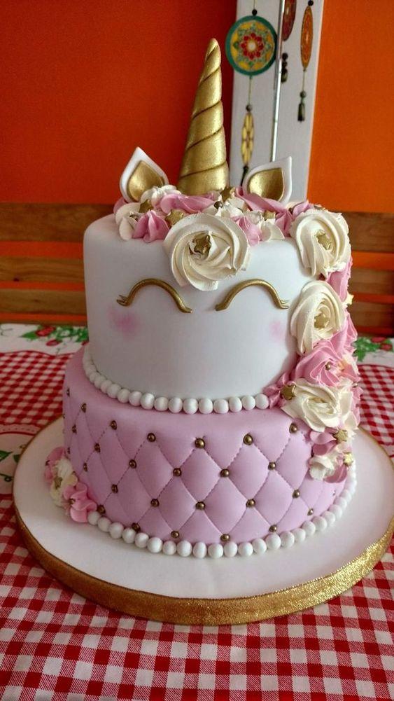 pasteles de uniconio para 15 años