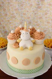 pasteles de unicornio para niño