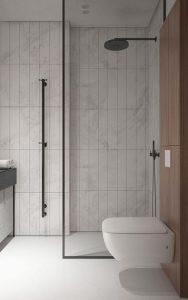 piso blanco con textura para banos