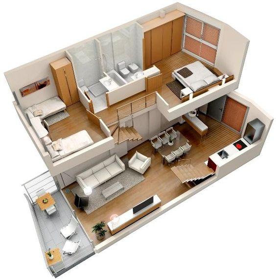 planos de casas de dos plantas gratis (1)