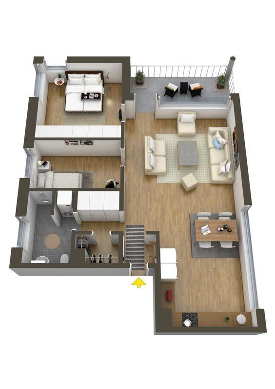 planos de casas de dos plantas gratis (4)