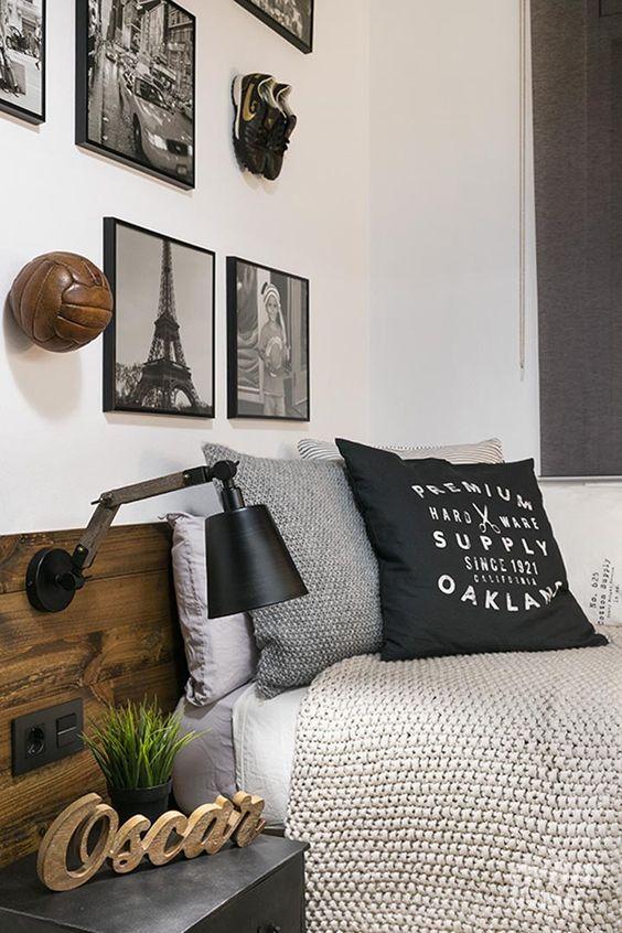 Dormitorios peque os ideas en decoraci n moderna y color for Decoracion de recamaras para jovenes hombres