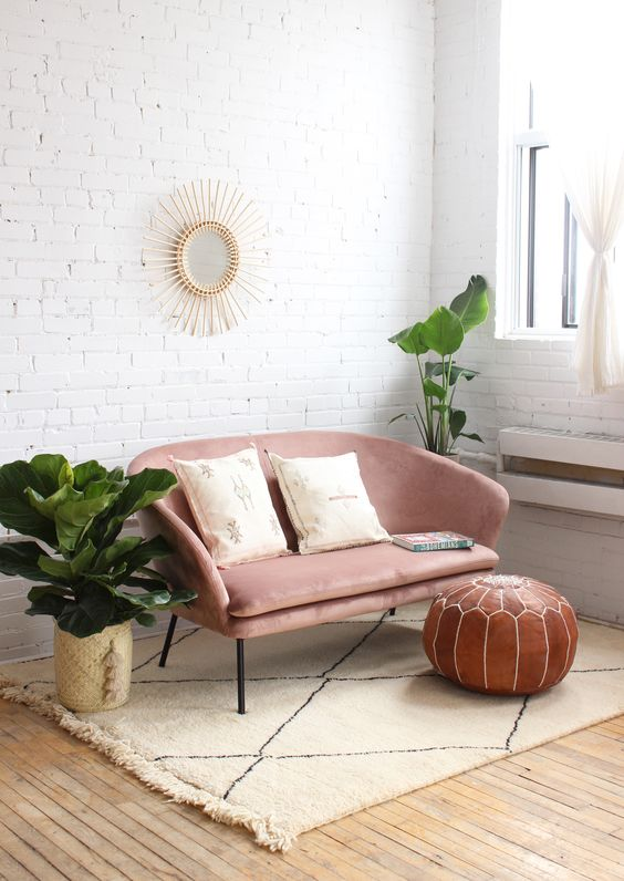 Sofás modernos para casas pequeñas