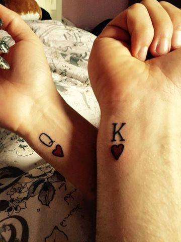 Tatuajes en pareja: tatuajes pequeños