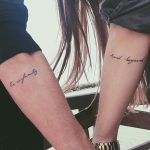 Tatuajes para parejas: frases