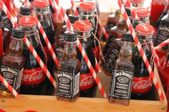 Tematica de Jack Daniels para cumpleaños de hombre