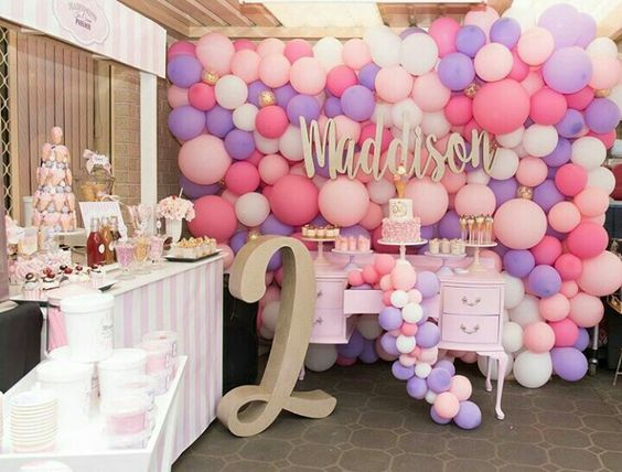 2 a os cumplea os ideas y decoraci n para una fiesta for Decoracion cumpleanos nina
