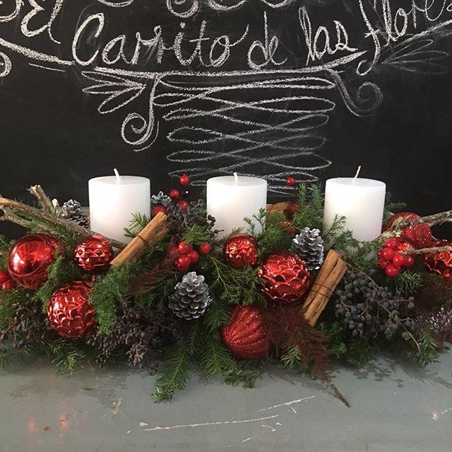 arreglo navideno con velas 2018 (2)