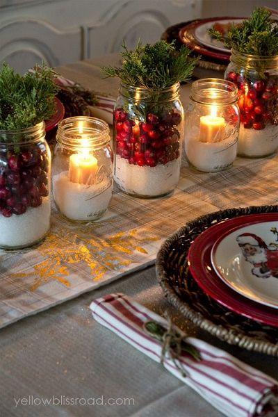 arreglo navideno con velas 2018 3
