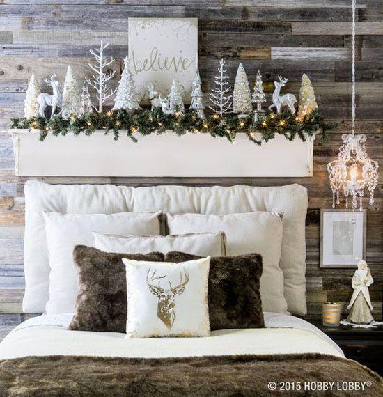 arreglo navideno en dormitorios 2018 3