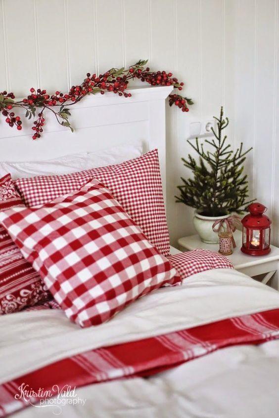 arreglo navideno en dormitorios 2018