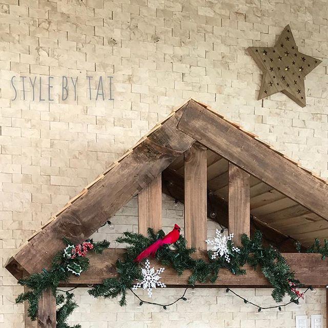 arreglo navideno en paredes 2018