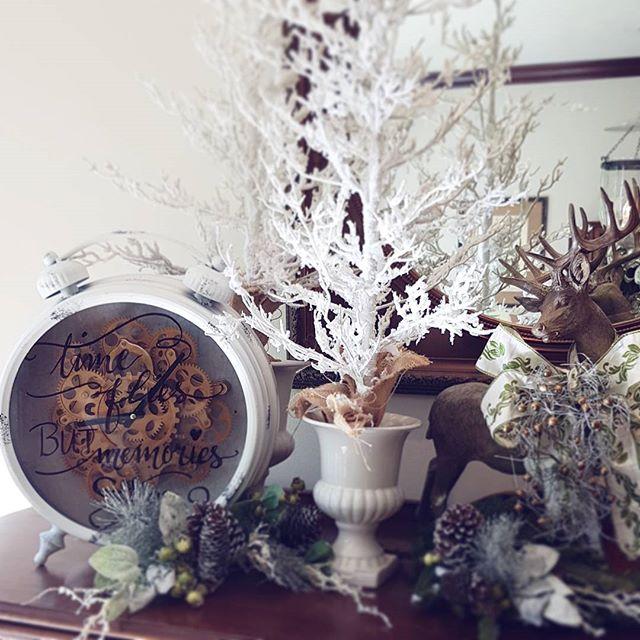 arreglo navideno en salones color blanco 2018 (6)
