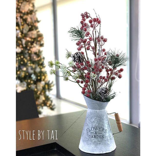 arreglo navideno en salones color blanco 2018 (9)